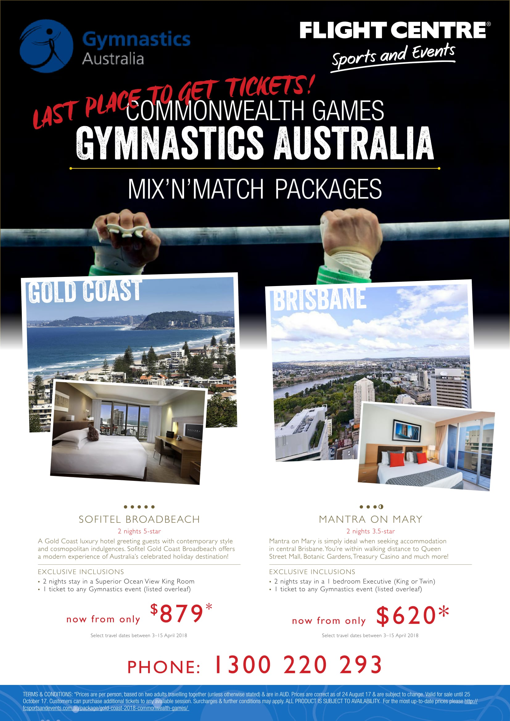 Comm Games Packages